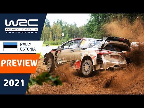 WRC 2021 第7戦ラリー・エストニア プレビュー動画