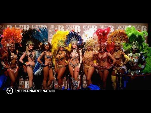 Brazilian Rio Dancers - Brits 2017