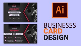 Fitness Gym Work Out Business Card template Design