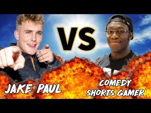 JAKE PAUL VS ComedyShortsGamer | VERSUS | Before They Were Famous