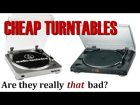 Cheap turntables – Are they really THAT bad?
