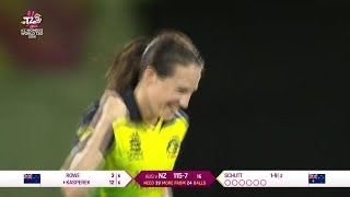 Australia v New Zealand - Womens World T20 2018 highlights