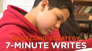 60-Second Strategy: 7-Minute Writes