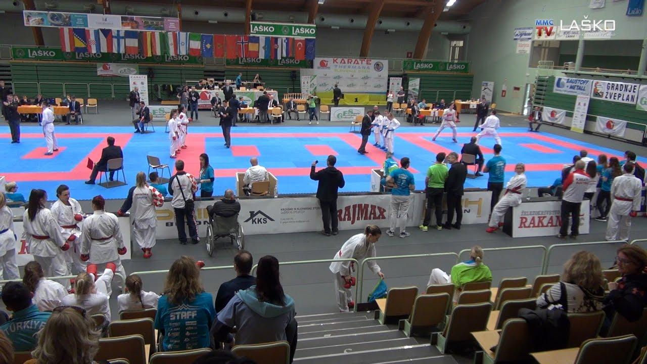 Slovenski karateisti iz Laškega s sedmimi medaljami