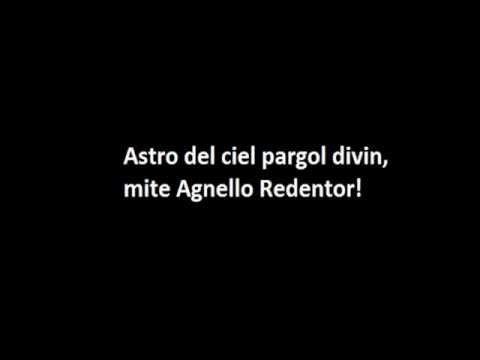 , title : 'Astro del ciel con testo!'