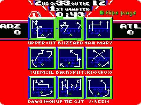 nfl blitz 2000 game boy color