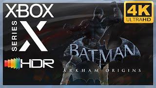 [4K/HDR] Batman : Arkham Origins / Xbox Series X Gameplay