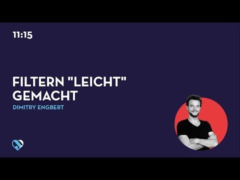 """JD19DE - Filtern """"leicht"""" gemacht"""