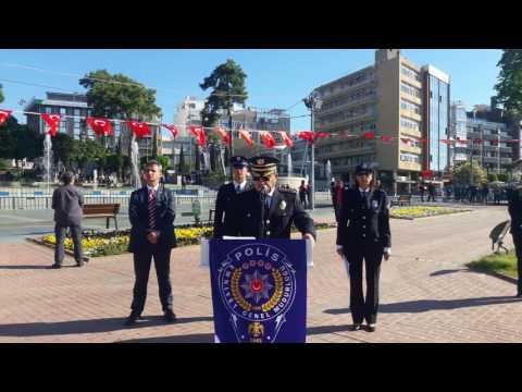 Antalya Emniyet Müdürü Celal Uzunkaya'dan teşkilatın kuruluş yıldönümü kutlaması
