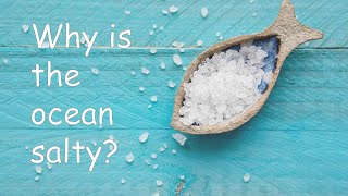 Why is the ocean salty?   Chemistry   So Many Whys