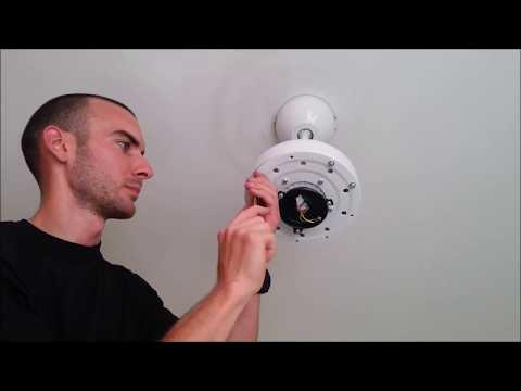 como instalar ventilador techo tipo 2