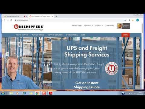 , title : 'Unishippers Sales