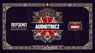 The RED represents the leading hardstyle sound at Defqon1 Check out Audiotricz