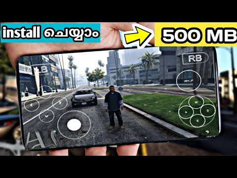Download Gta Sa Mod Gta 5 280mb Android Apk Data Cpu Mali