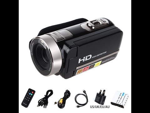 Videocamera  cinese FULL HD Unboxing