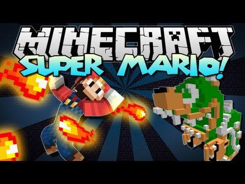 Minecraft | SUPER MARIO! (Bowser, Powers, Mobs & More!) | Mod Showcase [1.5.2]