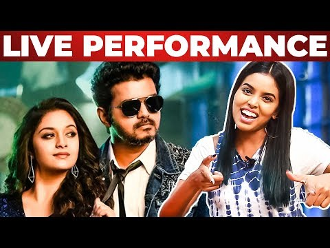 Sarkar-OMG Ponnu Song Live Singing by Singing Stars | Thanks to Colors Tv | Vijay | RS 183
