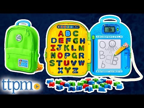 Go-With-Me ABC Backpack from LeapFrog