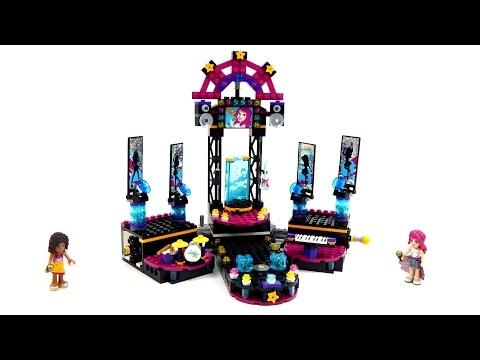 Vidéo LEGO Friends 41105 : La scène de la chanteuse