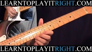 Third Degree Solo - Eric Clapton - Fast and Slow