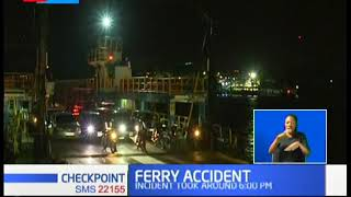 Rescue operations underway after car plunged from ferry into Indian ocean in Mombasa