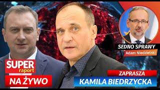 Paweł KUKIZ, Tomasz TRELA, Adam NIEDZIELSKI [NA ŻYWO] Super Raport i Sedno Sprawy