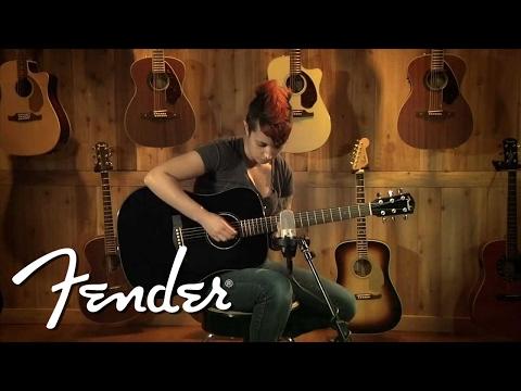 Fender CC 60S 3TS Acoustic Guitar Sunburst