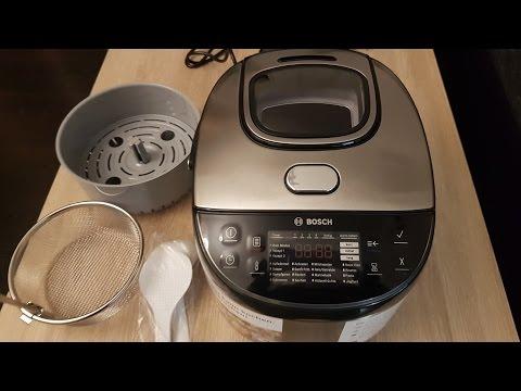 Gesund Kochen mit Multikocher von Bosch MUC28B64DE