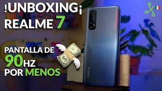 Realme 7 UNBOXING: la pantalla de 90 HZ más barata de México.