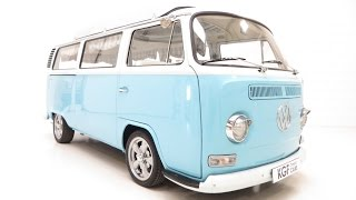 preview picture of video 'An Adorable RHD VW Type 2 Dormobile Bay Crossover Motor Caravan. £20,995'