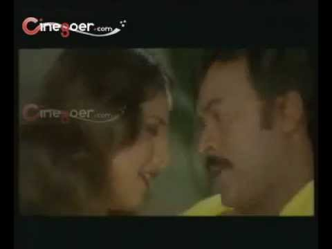chiranjeevi lip kiss to rambha hot from baavagaru baagunnara