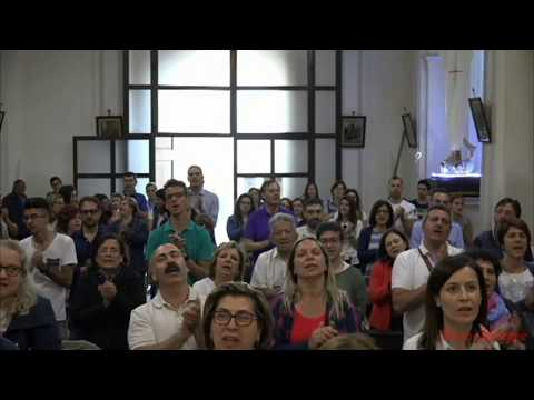 Pellegrinaggio Regionale G A M  Giovent� Ardente Mariana  Santa Messa conclusiva  presso la Chiesa  Maria SS. dell`Itria di Calascibetta  Si consiglia di vedere il video in qualit� HD