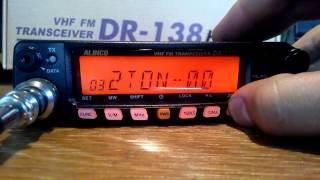 Teste rádio Alinco DR-635 dual band - João Carlos Spreafico