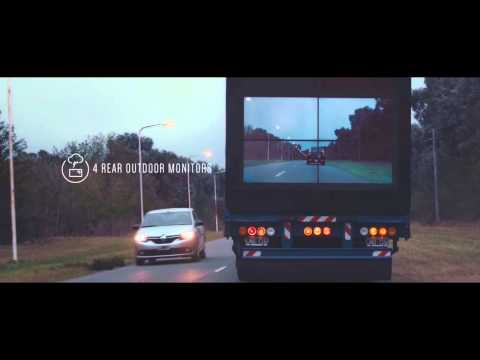 Samsung promotes Road Safety with this Truck