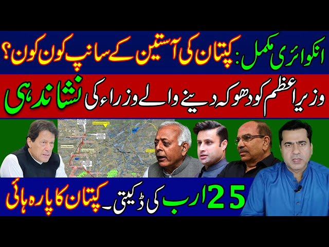 Who are the snakes in the PM Imran Khan sleeve? | Identification of ministers