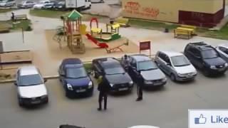 Бои на дороге, быдло, драки 2017