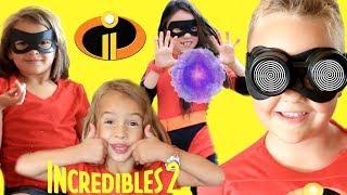 Incredibles 2 Screen Slaver! Violet Violet Saves Dash with Friend Incredibles