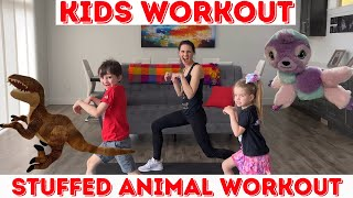 Kids Workout / Stuffed Animal Workout (age 3-8)