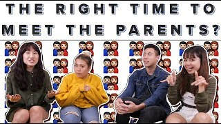 When Is It The Right Time To Meet The Parents? | ZULA ChickChats | EP 37