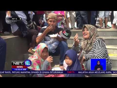 Pasca OTT KPK, Para Warga Cianjur Gelar Syukuran Makan Nasi Liwet Bersama- NET 12