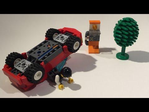 Vidéo LEGO City 8402 : La décapotable