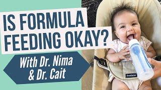 Is formula feeding OK? 2 doctors weigh in on breastfeeding vs formula