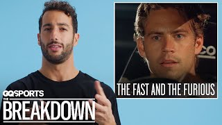 Formula 1 Driver Daniel Ricciardo Breaks Down Racing Movies | GQ Sports