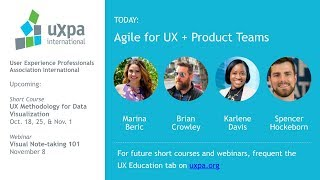Agile for UX + Product Teams