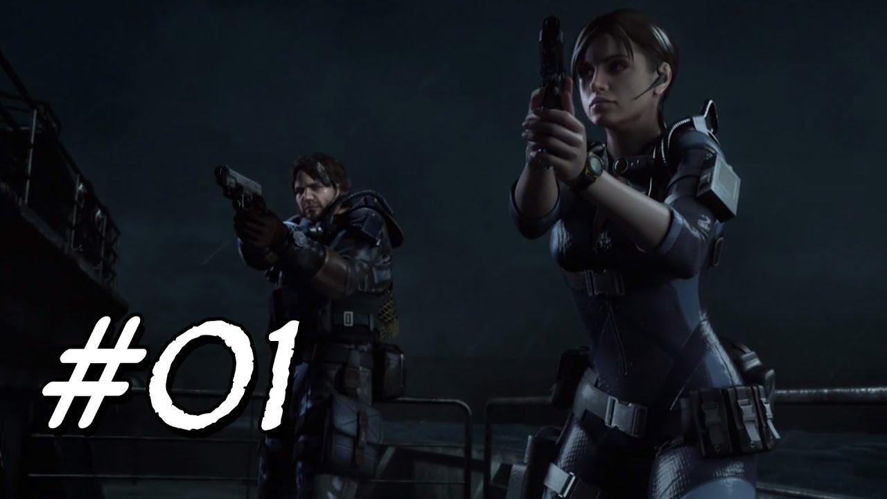 [Let's Play] Resident Evil Revelations – 01 – Jill und Parker