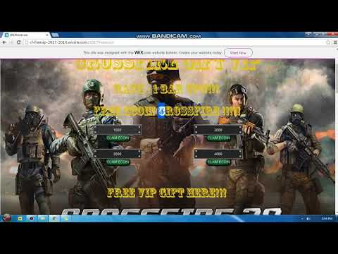 How to get Free ecoin in CROSSFIRE 2018/2022 Philippines - смотреть