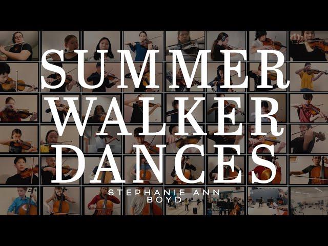 Youth Concert Orchestra – Summer Walker Dances