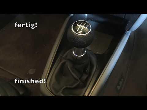 Schaltknauf austauschen | replace shift knob | Audi A3 8l | Tutorial | HowTo