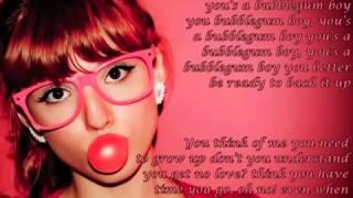 Bubblegum Boy   Bella Thorne & Pia Mia Lyrics On Screen)