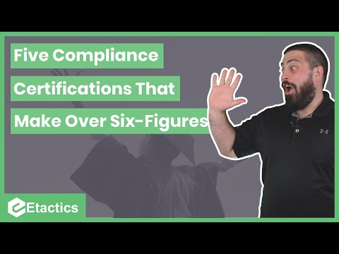 Five Compliance Certifications That Make Over Six Figures - YouTube